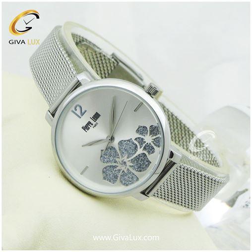 ساعت مچی زنانه پییر لنون Pierre Lenon مدل PL-0124F فول استیل نقره ای