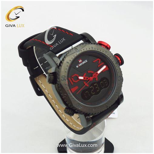 ساعت مردانه دوزمانه نوی فورس مدل nf9094m