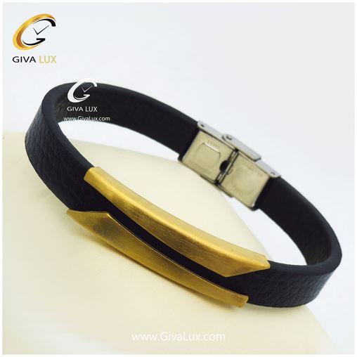 دستبند چرمی مردانه اومگا